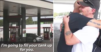 Man Delivers Acts Of Kindness To Honor Shooting Victim