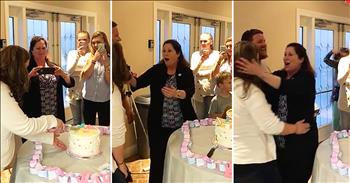 Surprise Twin Pregnancy During Gender Reveal