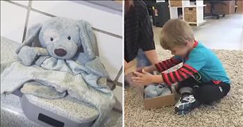 Lost Stuffed Animal Is Reunited With Owner