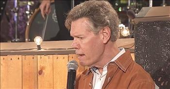 Randy Travis Sings On Stage After Stroke