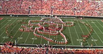 Marching Band Performs Garth Brooks Medley