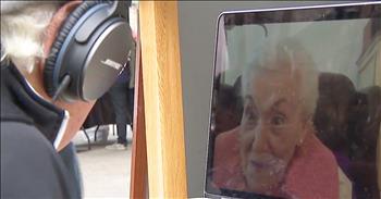 100-Year-Old Grandma Shares Advice On The Street