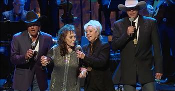 4 Country Stars Sing 'Will The Circle Be Unbroken'