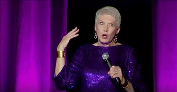 Jeanne Robertson Hilariously Struggled With A Body Suit