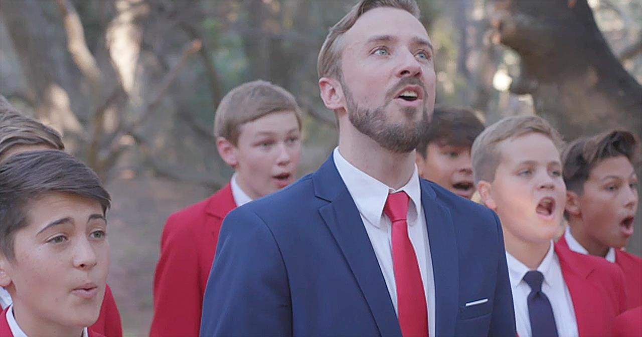 A Cappella 'How Great Thou Art' With Boys Chorus