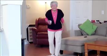 97-Year-Old Dances The Charleston