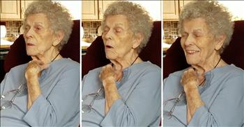 Granny With Alzheimer's Remembers How To Yodel