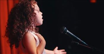 4-Year-Old Sings Frank Sinatra Classic 'My Way'