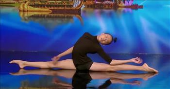 Contortion Dancer's Audition Wows The Judges