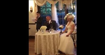 10-Year-Old Delivers Funny Best Man Speech