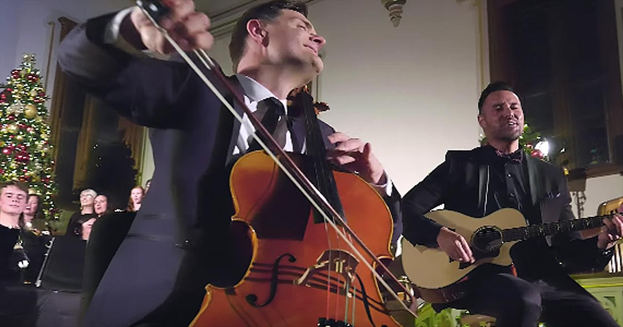 The Piano Guys Perform 'Ode To Joy To The World'