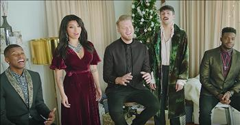 A Cappella Performance Of 'Deck The Halls' For Christmas