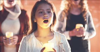 Children's Choir Sings Mark Schultz 'When Love Was Born'