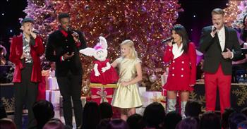 13-Year-Old Ventriloquist Sings Funny Christmas Song