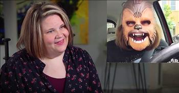 Viral Chewbacca Mom Shares Laughter Through Pain