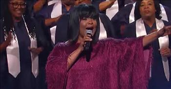 Gospel Singer Performs Live Rendition Of 'Joy To The World'
