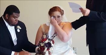 Deceased Father Writes Letter To Daughter On Wedding Day