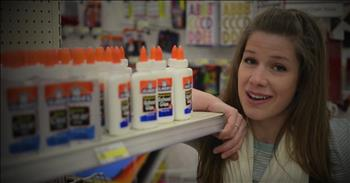 Teacher's Hilarious Christmas Parody 'All I Want For Christmas Is Glue'