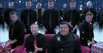 48 Vocal Tracks Combine For A Cappella 'Silent Night'