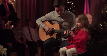 Daddy-Daughter Duet Of 'Let There Be Peace On Earth'