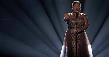 The Voice Finalist Performs 'O Holy Night' On Live TV