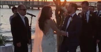 Autistic Brother Sings Disney Song At Sister's Wedding