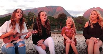 4 Sisters Sing 'Somewhere Over The Rainbow'