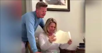 Baseball Star Pays Off His Parent's Mortgage