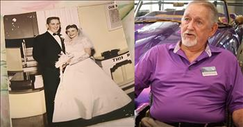 Husband Takes Care Of Wife With Alzheimer's For 17 Years