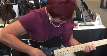 Talented Granny Guitarist Goes Viral