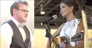 Groom Tears Up At Bride's Surprise Serenade