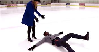 Stuntman Shares Tips On Right Way To Fall On Ice