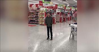 10-Year-Old With Autism Sings In Grocery Store