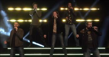 5 A Cappella Men Sing 'Life Is A Highway'