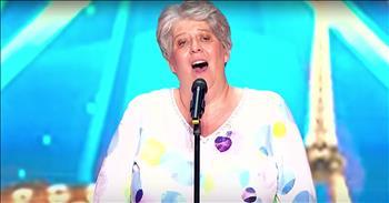 Elderly Opera Woman Earns Golden Buzzer