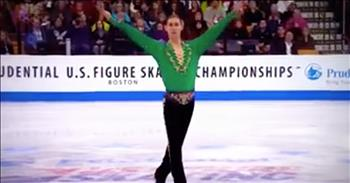 Olympic Skater Performs Riverdance On Ice