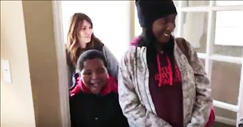 Homeless 8-Year-Old Gets Own Room