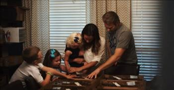 Couple Makes Handmade Wooden Crosses To Encourage Others