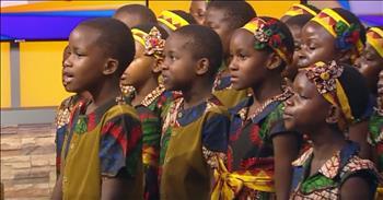Children's Choir Sings A Cappella 'Amazing Grace'