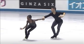 Figure Skating Duo Gives Viral Performance