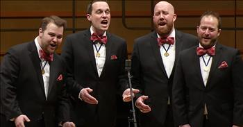 Barbershop Quartet Performs 'Aladdin' Disney Medley