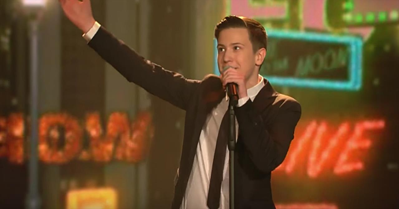 13-Year-Old Belts Out Frank Sinatra 'Fly Me To The Moon' - Inspirational  Videos