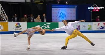 Perfect Ice Skating Routine Leaves Judges In Awe