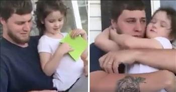 Little Girl Asks Man To Officially Be Her Dad