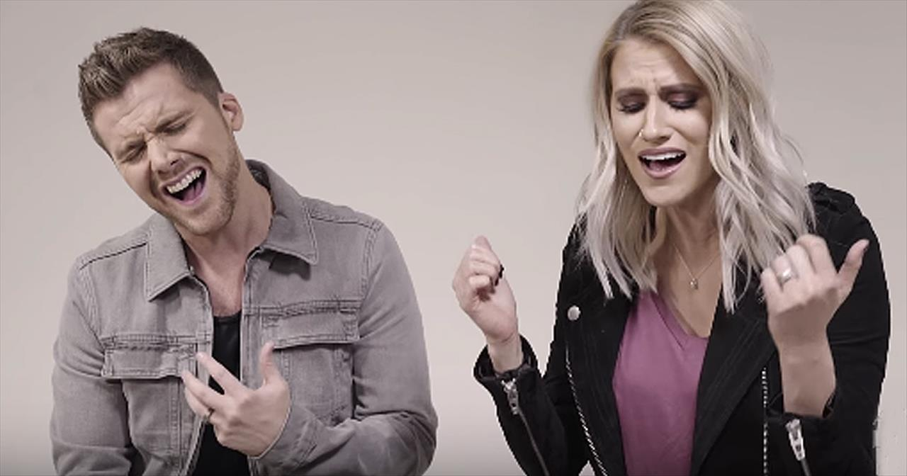 Couple Sings Worship Medley One Thing Remains And How He Loves