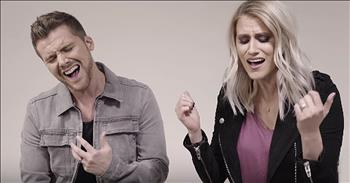 Couple Sings Worship Medley 'One Thing Remains' And 'How He Loves Us'