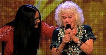 81-Year-Old Great-Grandmother Audition Moves Judges To Tears