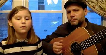 Father-Daughter Duet To 'Lean On Me' To Fight Homelessness