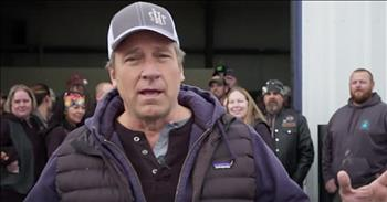 Mike Rowe Surprises Christian Couple Giving Back To Community
