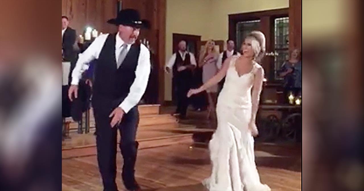Father Daughter Wedding Dance.Father Daughter Wedding Dance Has Surprise Ending Inspirational Videos